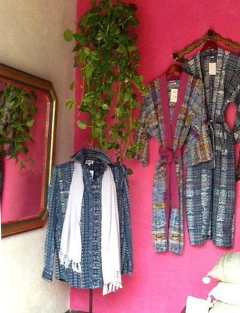 Casa El Patio: A selection of dressing gowns and shirt