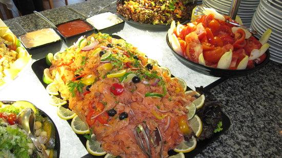 Savoy Calheta Beach : Une partie du buffet