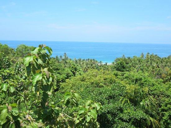 Villa Maria Tayrona - a Kali Hotel: sea view from room #3 terrace