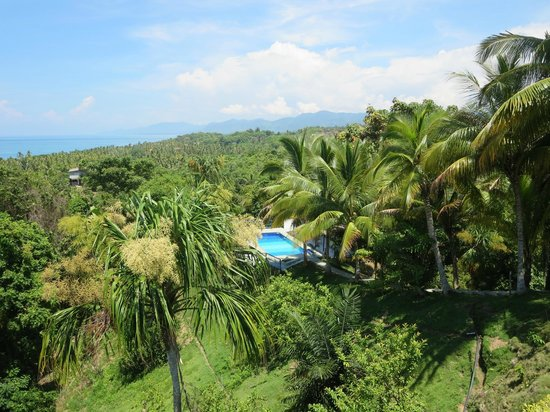 Villa Maria Tayrona - a Kali Hotel: pool view from room #3 terrace