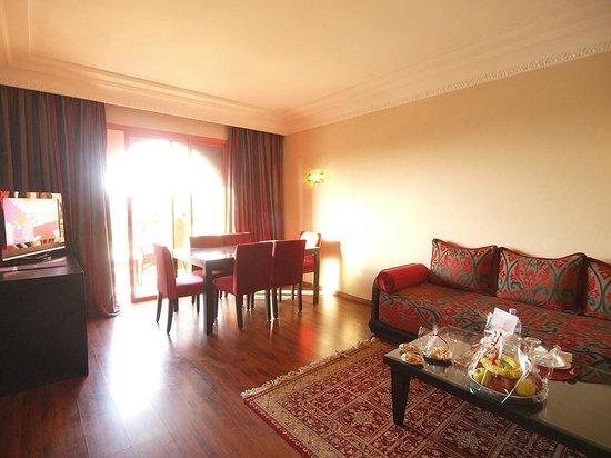 فندق وسبا بالم بلازا مراكش: Coin séjour