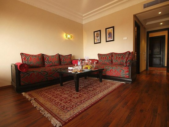 فندق وسبا بالم بلازا مراكش: Coin salon