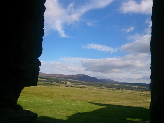 Ruthven Barracks : Great view