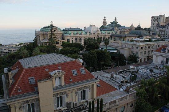 Hôtel Métropole Monte-Carlo : Вид из окна днем