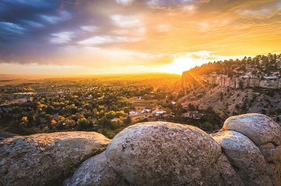Sunset on the Rims- from Billings Convention & Visitors Bureau