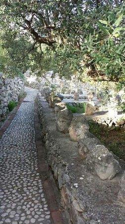 Sciacca, Italie : Il giardino incantato.