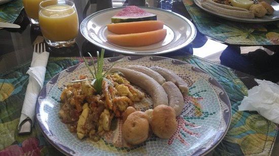 Moon San Villa: breakfast