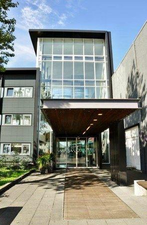 Hotel Selfoss: Entrance