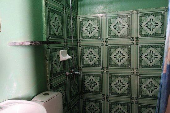 Casa Colonial Alina y Vicente : la salle de bains sans aération ni fenêtre !