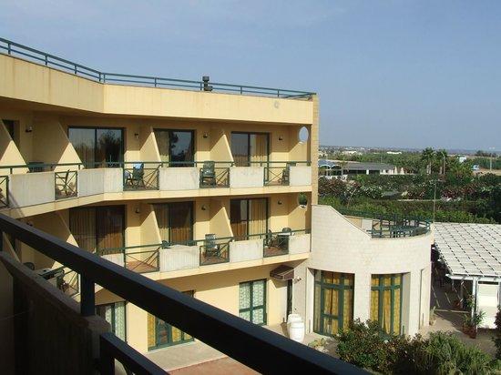 Hotel Andrea Doria : particolare dei terrazzini