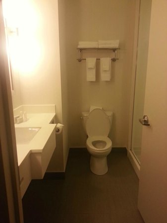 Fairfield Inn & Suites New York Queens/Queensboro Bridge: The Bath in 809