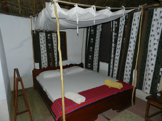 Selous Great Water Lodge: il letto