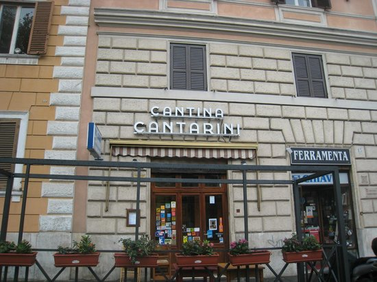 Photo of Italian Restaurant Cantina Cantarini at Piazza Sallustio, 12, Rome 00187, Italy