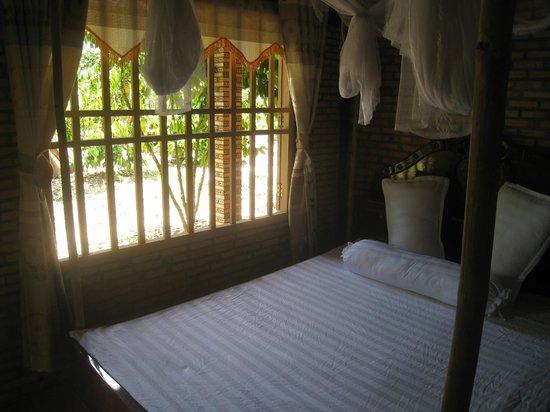 Green Bamboo Lodge : phòng tiêu chuẩn