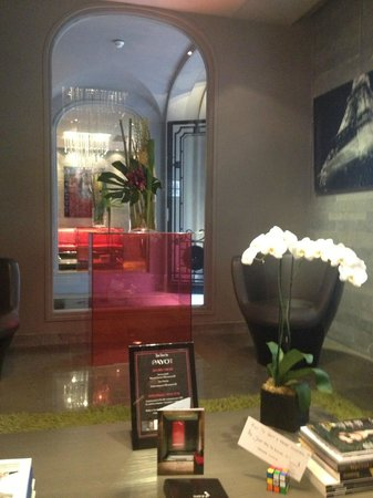 Hotel Sezz Paris: reception