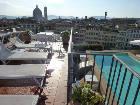 Grand Hotel Minerva: Roof top pool