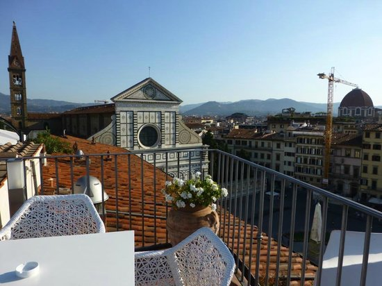 Grand Hotel Minerva: Roof top view