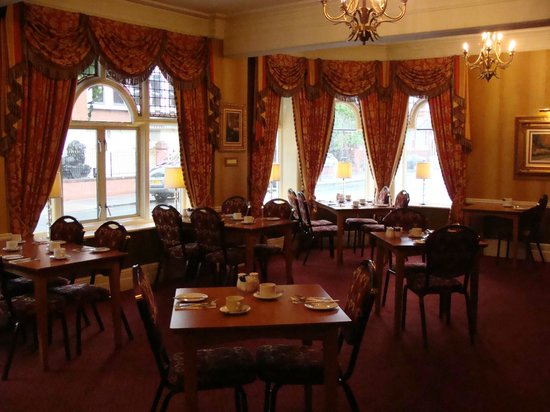 Best Western Hallmark Hotel Chester Westminster: Dining Room