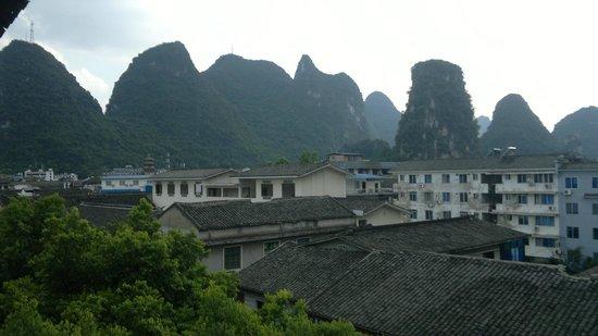 Lisa's Mountian View Hotel: Vista dal piano