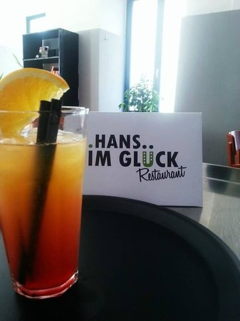 El Hans: Campari Orange in Hans im Glück