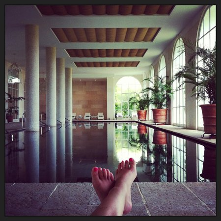 Finca Cortesin Hotel Golf & Spa: Indoor Spa