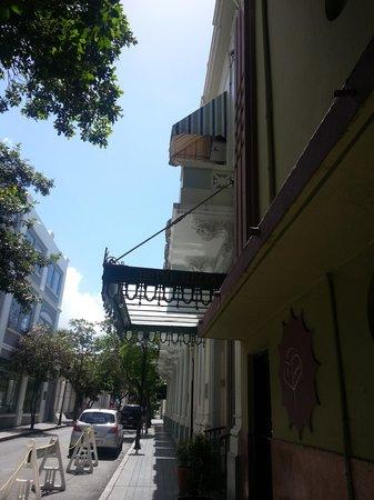 Hotel Melia Ponce: Hotel Entrance
