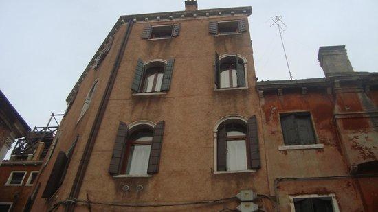 Hotel Citta di Milano: Окна моего номера