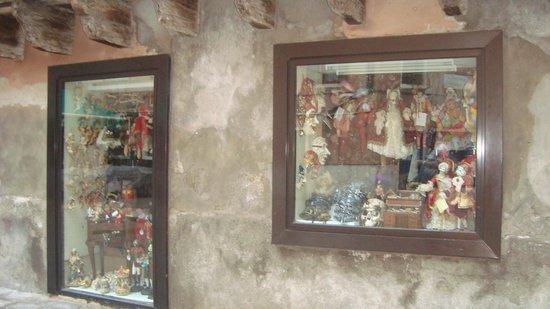 Hotel Citta di Milano: Магазинчик сувениров у входа в отель