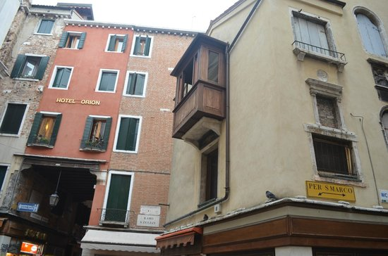Hotel Citta di Milano: Вид из номера