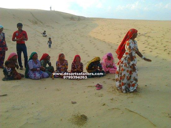 Desert Safariors Camps : At desert