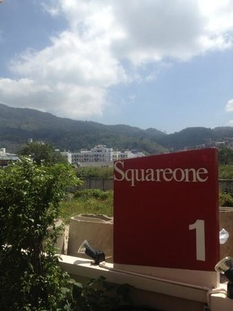 Squareone: scenery of the hotel