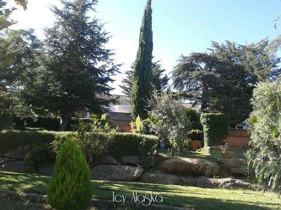 Hotel Bodega El Juncal Ronda: Il giardino