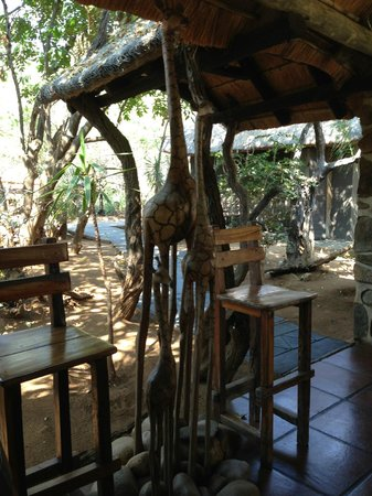 Ezulwini Game Lodges: Public area