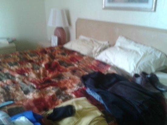 Long Key Beach Resort & Motel : Double bed.