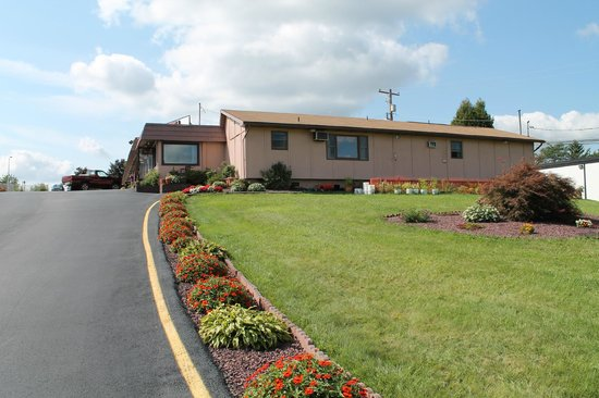 Dunmore Inn : motel out view