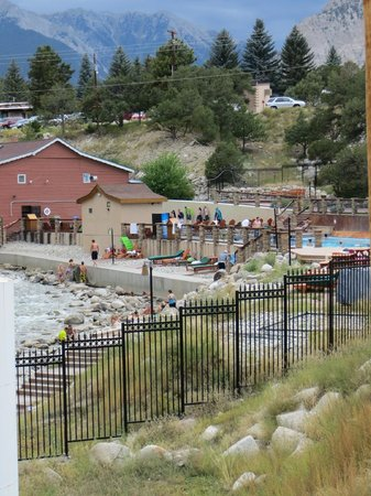 Mount Princeton Historic Bath House & Hot Springs: Mt Princeton Hot Springs