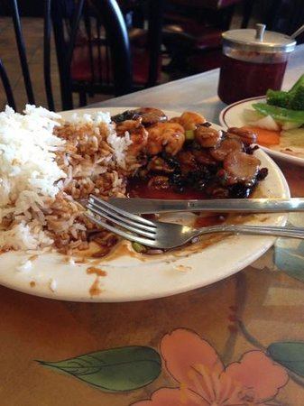 Feng Ling Restaurant: Bad shrimp w/garlic sauce