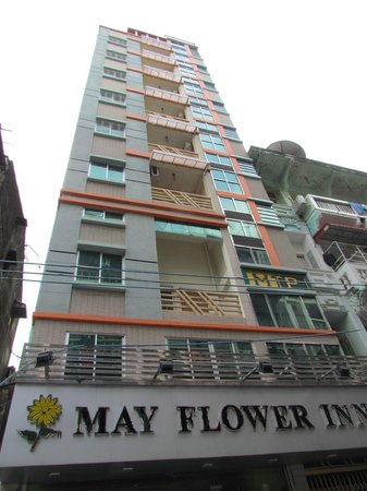 May Flower Inn : front of the hotel