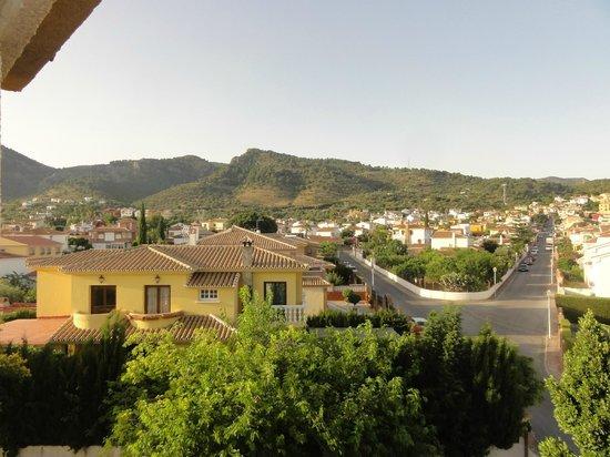 Apartamentos Santa Clara : Uitzicht van uit kamer op 2e etage