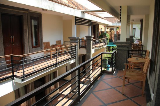 Village Indah Villas: Vue du balcon