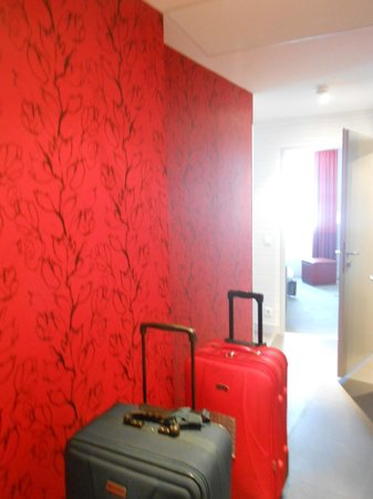 Adagio Vienna City: Hall between rooms