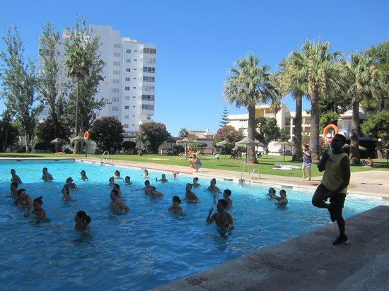 Hotel San Fermin: aquagym