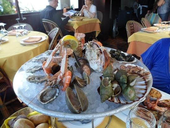 """Restaurant Chez Yvette : The """"Plateau"""""""