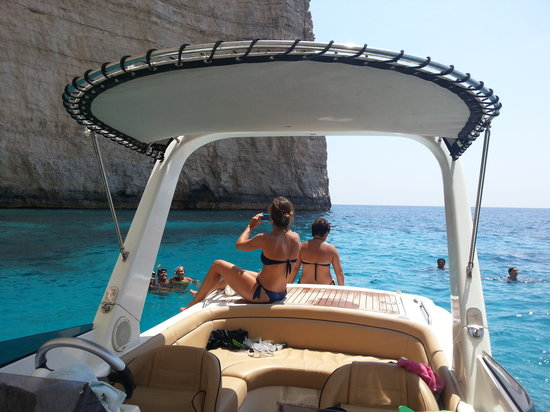 Malta Rib Cruises and Charter - Private Boat Service : Crystal clear water