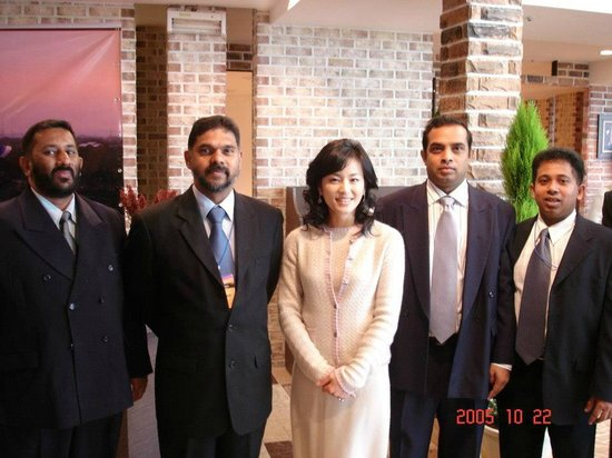 Jeonju Core Hotel: With a Korean TV actress who visited the exhibitors