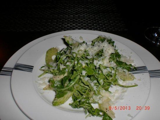Eat Drink: wild arugula + celery salad