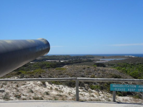 Rottnest Island Train Rides: View from Oliver Hill