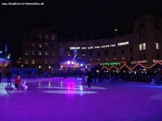 Prinzregentenstadion : Winter im Prinzi