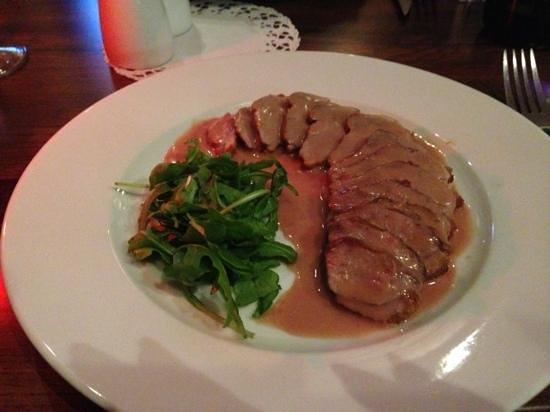 Sobranie Bar & Restaurant: duck in wine sauce