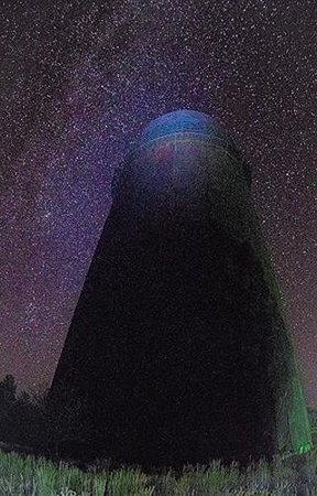 Pine Valley Lodge: Milky Way at the Halfway wigwam